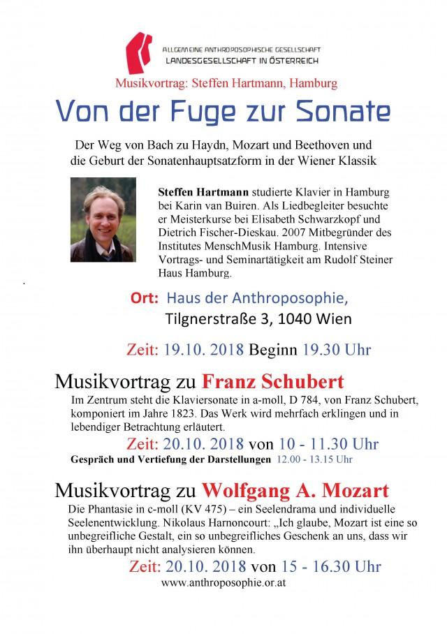 Plakat S. Hartmann Oktober 18