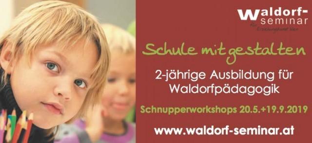 Banner Waldorf-Seminar Wegweiser 2019